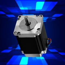 23HS8430 Industrial Control Stepping Motor 3A 2 Phase Stepper Motor 1.8° Stepping Motor 8mm Shaft Diameter digital stepping motor driver two phase fydm1108t