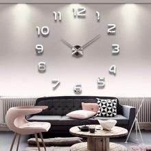 DIY 3D акриловые настенные часы наклейки 2019 НОВЫЕ ПОСТУПЛЕНИЯ Большие кварцевые стрелки часов современный интерьер декор настенные часы