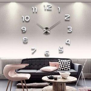 DIY 3D Acrylic Wall Clocks Sti