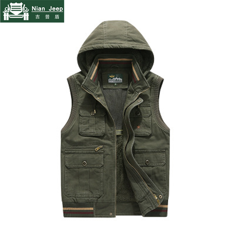 2018 Brand Vest Men Waistcoat Winter Thick Warm Fleece Vest Breathable Plus Size M 4XL Chalecos Para Hombre Colete Masculino
