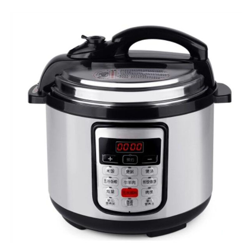 BETOHE 5L Stainless Steel Electric Pressure Cooker and Rice Cooking Pot 8