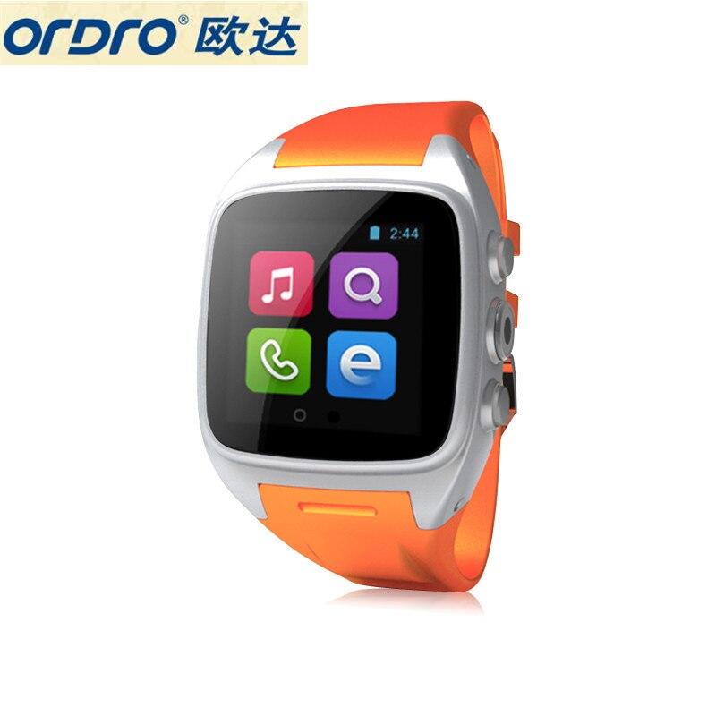 ORDRO SW16 Android 4.4 3G Smartwatch Phone MTK6572 Dual Core 1.0GHz IP67 Waterproof Smart Watch WiFi GPS 3MP Camera ordro sw16 1 54 inch android 4 4 3g smartwatch phone mtk6572 dual core 1 0ghz gps 3mp camera ip67 bluetooth 3 0 wifi camera