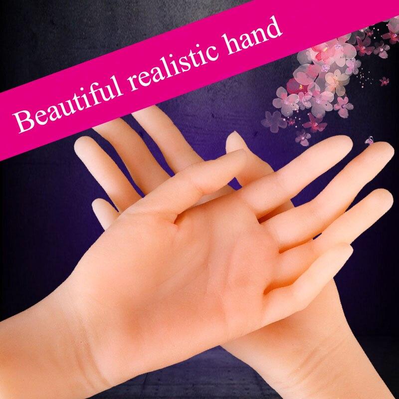 Doux grande main féminine 1:1 massage artificiel pénis mâle masturbateur réaliste faux doigt toucher 3D sex toys pour hommes poupées