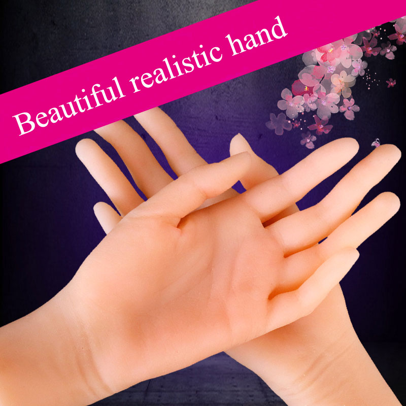 soft big female hand 1:1 artificial penis massage male masturbator realistic fake hand Finger touch <font><b>3D</b></font> <font><b>sex</b></font> <font><b>toys</b></font> for men dolls image