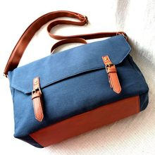 Men Travel Bags Large Capacity Satchel Man Shoulder Bag Male Vintage School Boys Bags Canvas Men's Handbag With Shoulder Strap(China)