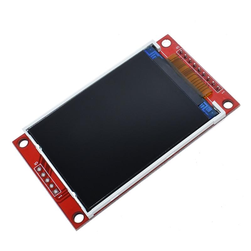 Smart Electronics 2.2 Inch 240*320 Dots SPI TFT LCD Serial Port Module Display ILI9341 5V / 3.3V 2.2'' 240x320 For Arduino Diy