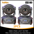 (2 pieces/lot) 60W LED Moving Head Spot Light DMX 14 Channels 3-Facet Prism DJ Spot Lighting