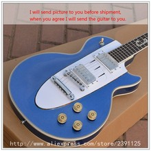 New Brand Custom Shop 1958 Blue silver guitar musical instruments chinese electric guitar free shipping