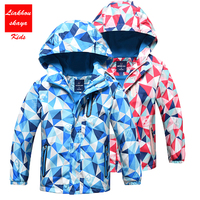 4 14 Y Kids Spring Autumn Jacket Children Blazer Outerwear Warm Coat Sporty Kids Clothes Double
