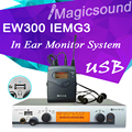 EW300 IEMG3 In Ear Monitor System with USB Function!! Top Quality EW100 IEM G3 / G3 IEM EK 300 Monitoring with in Earphone