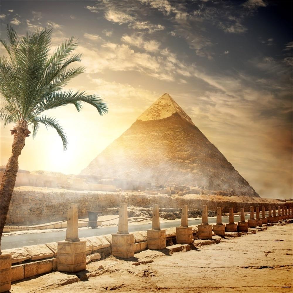 Egypt Wallpaper: Laeacco Pyramid Egypt Child Portrait Scenic Photography