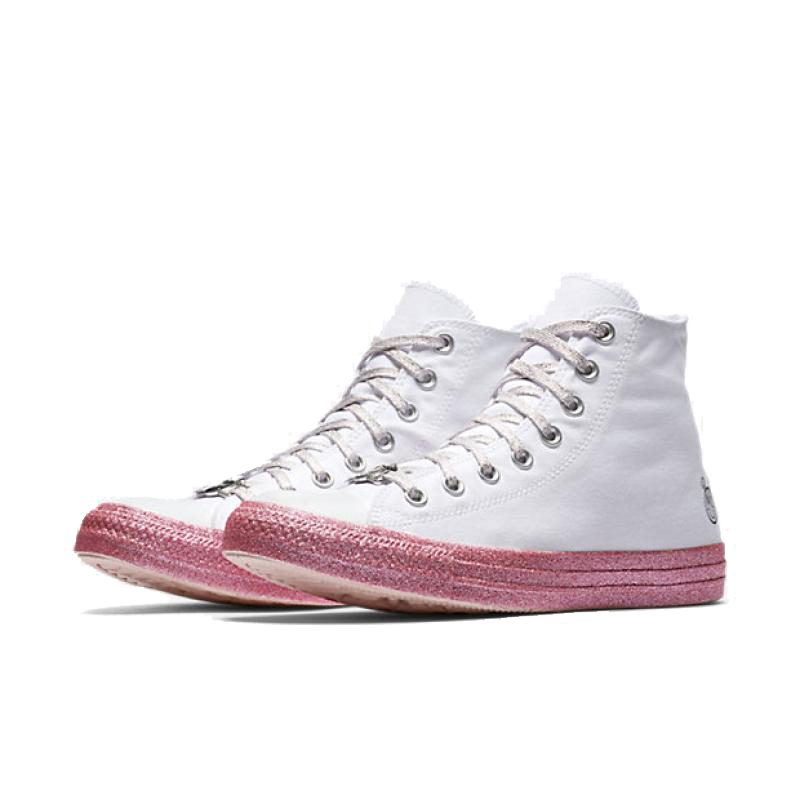 f168e87fa37c Converse x Miley Cyrus All Star Skateboarding Shoes Classic Women Canvas  High Top Anti Slippery Resistant Comfortable-in Skateboarding from Sports  ...