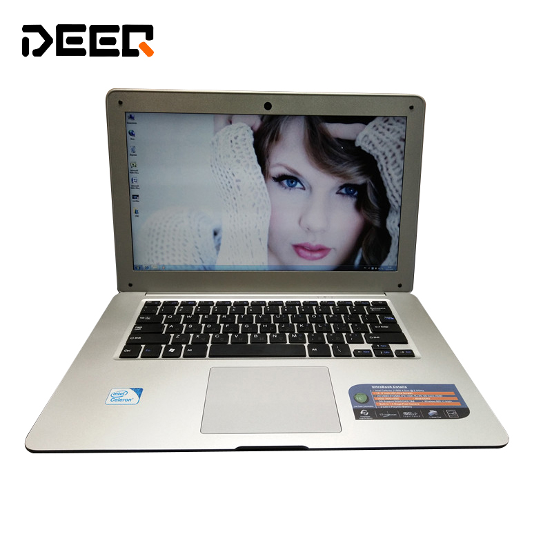 1920*1080 14 inch  Laptop 8GB /750G+64G SSD Qual Core Windows7/8/10 Wifi HDIM Portable PC Ultrabook Computer tablet Netbook netbook