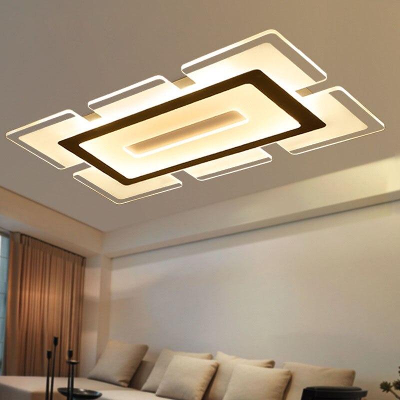 Led Mounted Light Ultrathin Acrylic Modern Sky City Ultra-thin Led dimming led Ceiling lamp,Ultrathin living room bedroom