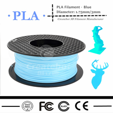 3d Printer Filament 17 colors Optional 1.75mm 3mm PLA Filaments 3d Printer Consumables Supplies for Createbot/MakerBot/ RepRap