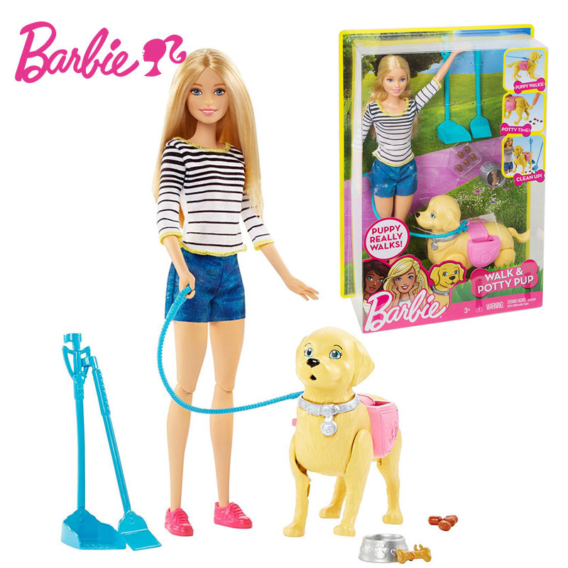 Barbie Doll Learn Care For Animals Series Barbie Girl Gift
