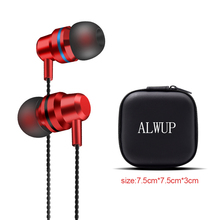 Earphones With Microphone For Phone Headphone Sport Stereo In-ear Earphone Earbud Noise Cancelling Earphone For Huawei P9 Lite kz zst hybrid earphone hifi 3 5mm stereo in ear earbud noise cancelling earphones with foam eartips with microphone
