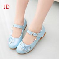 The New Children S Shoes Princess Single Girls Shoes Elastic Metallic Rose Baby Soft Bottom Shoes