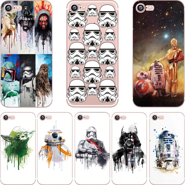 Star Wars Soft Silicone TPU iPhone Case (9 Styles)