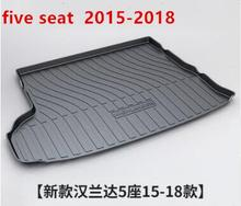 Hot Car Front Trunk Storage Mat Cargo Tray Trunk Waterproof Protective Pads Compatible for Toyota highlander 2015-2018 hot car front trunk storage mat cargo tray trunk waterproof protective pads compatible for subaru xv forester outback 2019