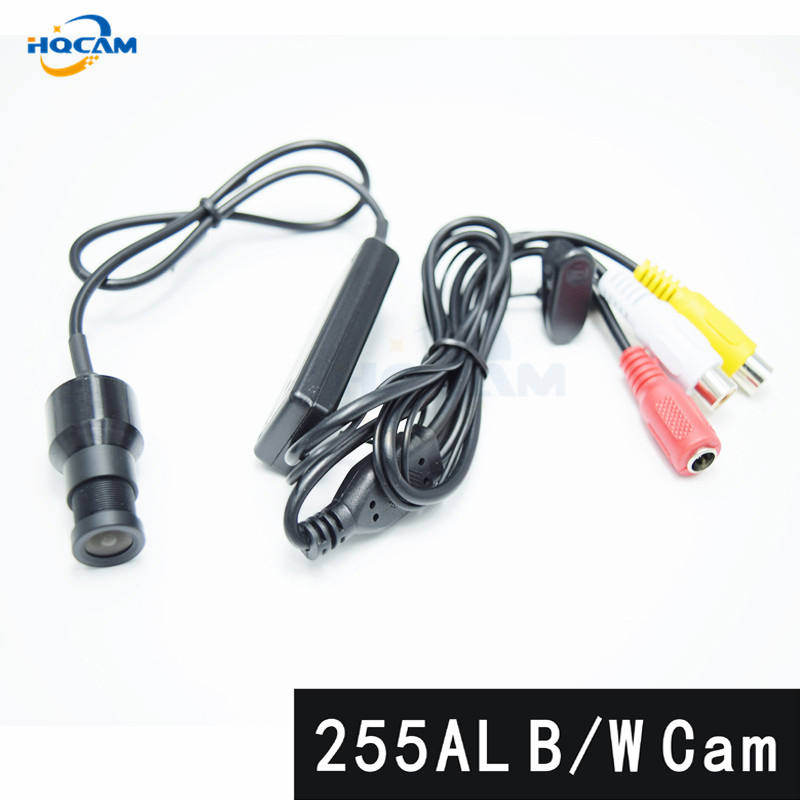 HQCAM B/W Camera chip ultra low light SONY CCD 2090+255AL machine vision without noise Black and white mini camera Mini Bulle cndst cctv sony ccd black and white mini square camera low lux 22x22mm 480tvl 600tvl mini b w industrial camera 3 6mm board lens