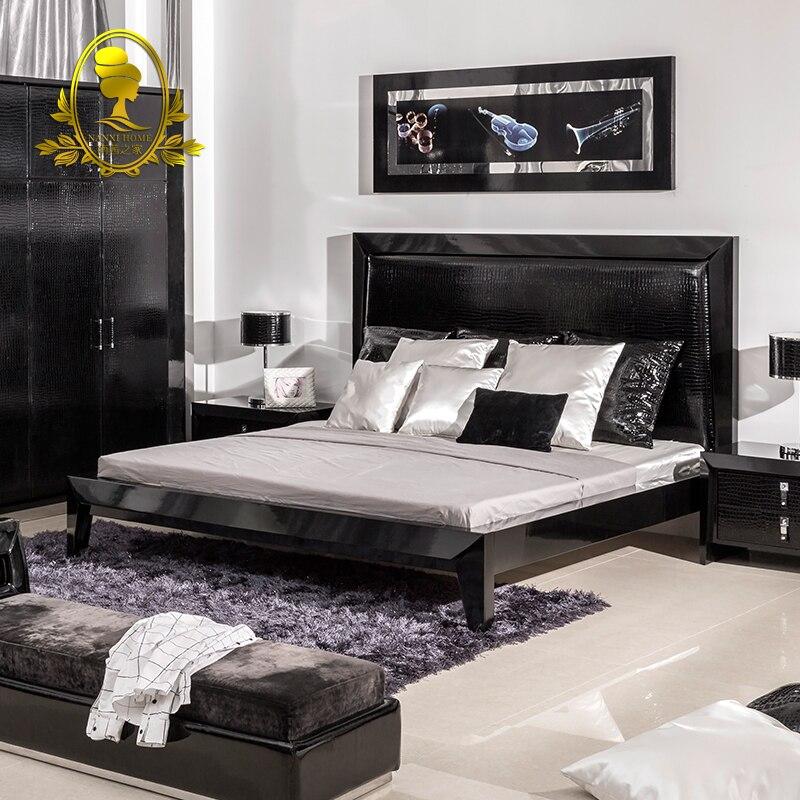 Excelente Dormitorio Muebles Negro Tocador Festooning - Muebles Para ...
