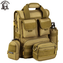 SINAIRSOFT Tactical 2018 Combination Shoulder Handbag Military Nylon Oxford Fabric Multifunctional Mountaineering Hunting ZH2021