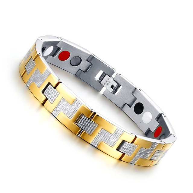 Stainless Steel Healthy Magnet Bracelet
