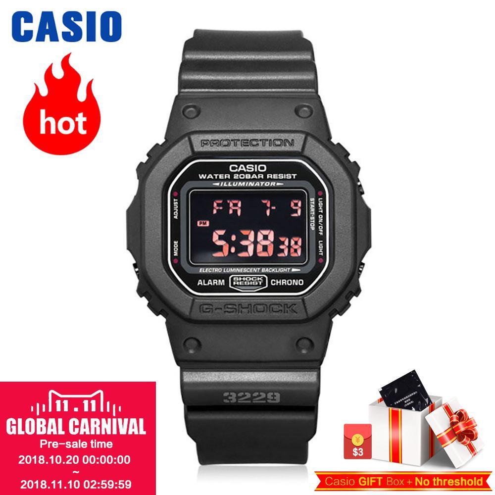 Casio watch Multifunctional Sport Student Electronic Watch DW-5600MS-1D DW-5600BBN-1D DW-5600E-1V DW-5600BBN-1D casio a500wa 1d