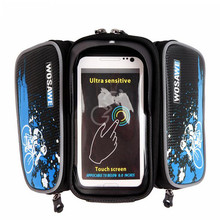 Motorcycle Bike Bicycle Top Tube Frame Bag & Phone Case Saddle Pouch Storage Case  mountain biking sports  Pouch Case