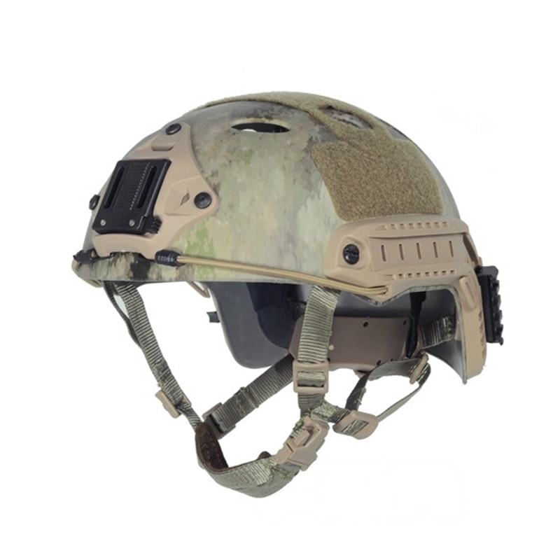2017 FMA Tactical FAST Helmet-PJ Type Airsoft MOLLE Gear For Hunting Camping Outdoor Stport Free Shipping Multicam (L/XL) TB465 fma cp dummy af helmet fast base jump helmet tb310l safety & survival free shipping