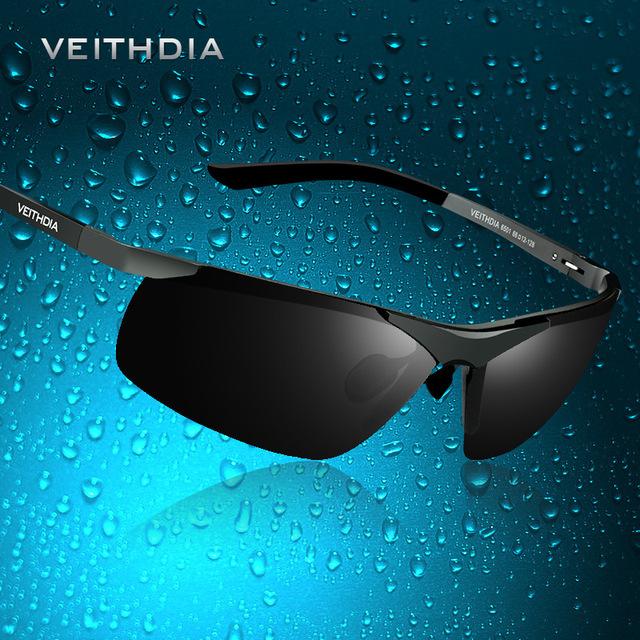 De alumínio e magnésio Polarized Lens Mens óculos de sol espelho motorista óculos de sol masculino pesca Outdoor Sports óculos para homens 6501