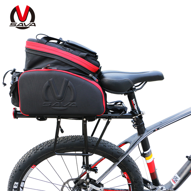 ФОТО Hurricane 35L Bicycle Carrier Bag Rear Rack Bike Trunk Bag Luggage Pannier Back Seat Double Side Big Capacity Cycling Bag