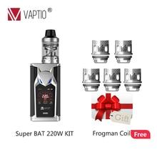 Vaporizer US vape kit VAPTIO SUPER BAT KIT 220W batteries 18650 External coils head 0 15ohm.jpg 220x220 - Vapes, mods and electronic cigaretes