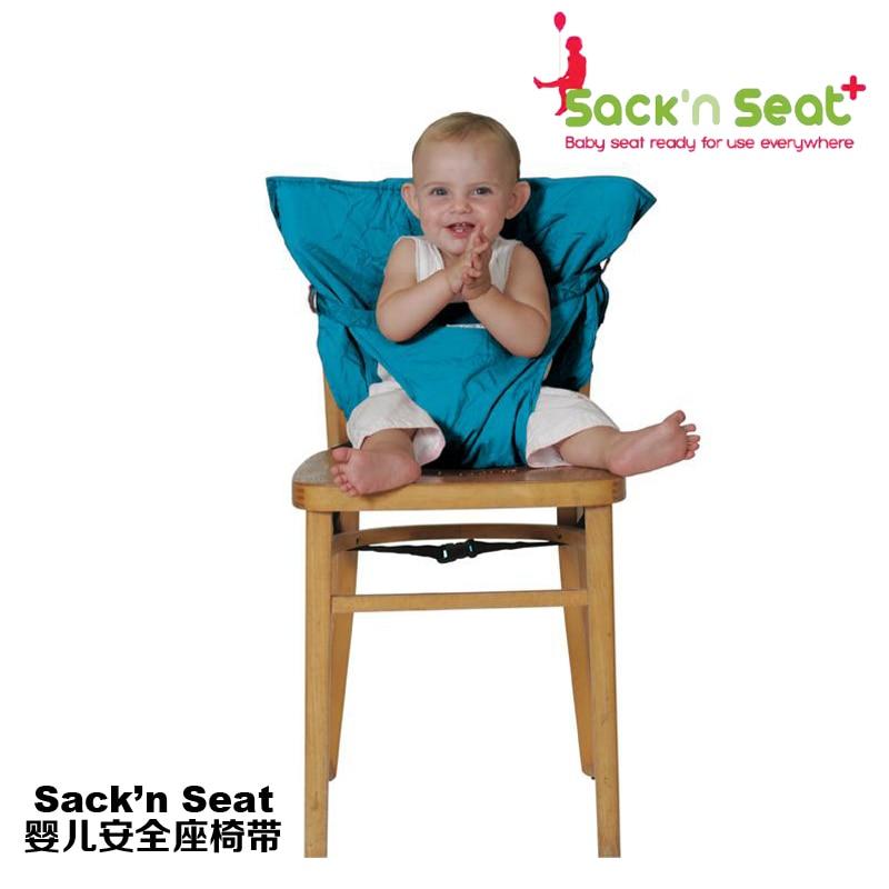 Sack\'n Seat Baby Infant Toddler/Foldable Safety dinner Seat/Feeding ...