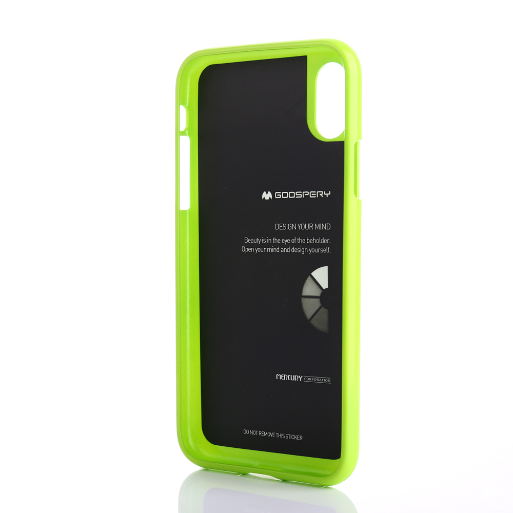 For Iphone X Pearl Tpu Case Goospery Jelly Bling Shining All Type Special  Yellow Aeproduct