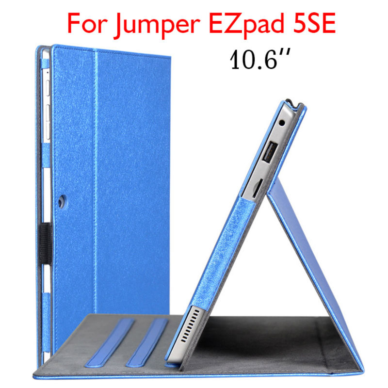 EZpad5SE Tablet Case Funda 10.6 inch Flip Stand Cover PU Leather Cases For jumper EZpad 5SE Slim Protective Shell With Card Slot