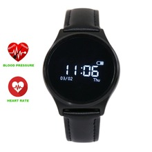 Authentic M7 Spherical Bluetooth Good Watch Blood Strain Coronary heart Charge Monitor Sport Good Wristband for Android IOS PK Okay88H watch