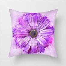 Fuwatacchi Flower Homer Decor Cushion Cover Throw Pillowcase Pillow Covers 45 * 45cm Sofa Seat Decorative Navidad