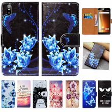 "For Fly Life Play Fly Photo Pro Fly Slimline Case High Quality 5.5"" Pu Leather Print Flip Wallet Case Cover Book Case Cover Bags(China)"