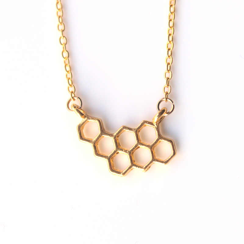 Hzew Min 1 pc moda chicas punk estilo oro plata beehive collar