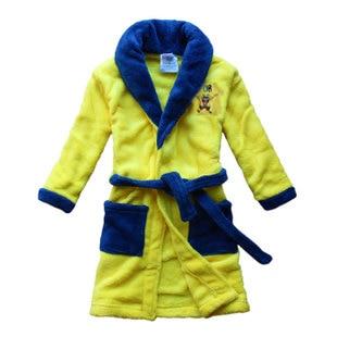1pcs 2014 baby kids spongebob child bathrobe pajamas sleepwear child