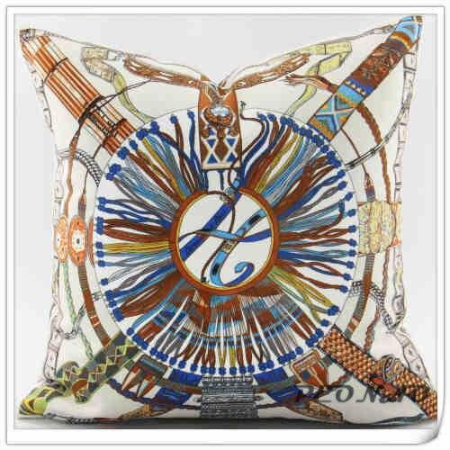 Hotel Decorative Special Design Throw Pillow Cover Home Sofa Decorative Geometric Pillowcases Velvet Material Qualitied