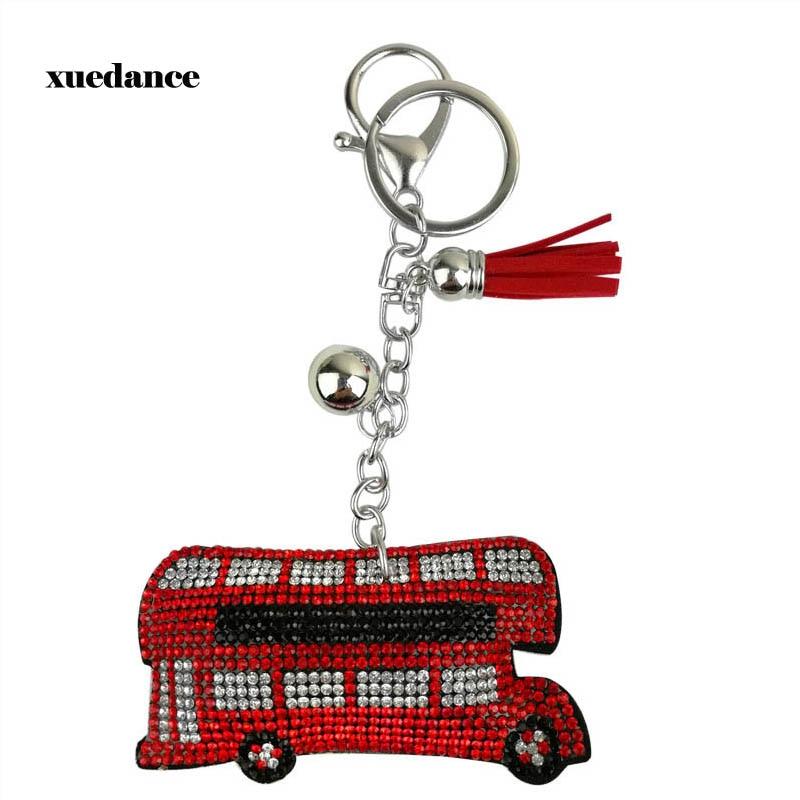 London Red /& Blue Bus Key organizer Key Pendant Keychain Men Souvenir,