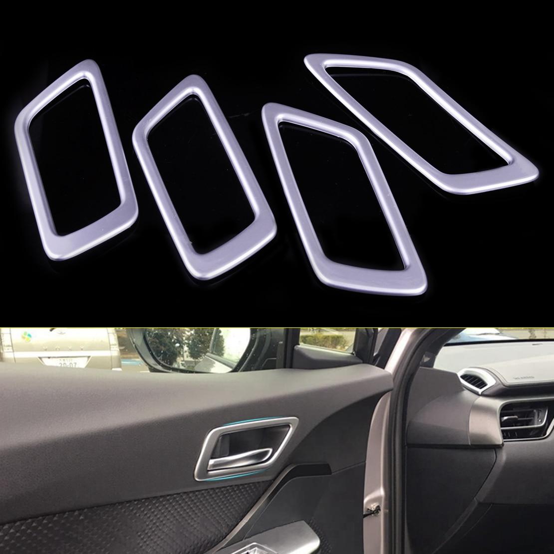 CITALL font b Car b font font b Interior b font Accessories 4pcs ABS Door Handle