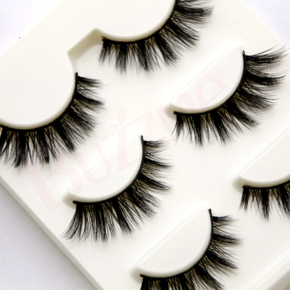 3pairslot Z3d 31 3d Silk False Eyelashes 100 Handmade 007mm