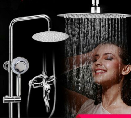 Copper Bath & Shower Faucets Bathroom Sinks,Faucets & Accessories Bathroom Fixture Shower rotatable lifting type whole sale new