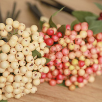 5Pcs Artificial Berry Decorative Foam Flower For Wedding Decoration Fake Artificial Plants For Home Decoration Drop