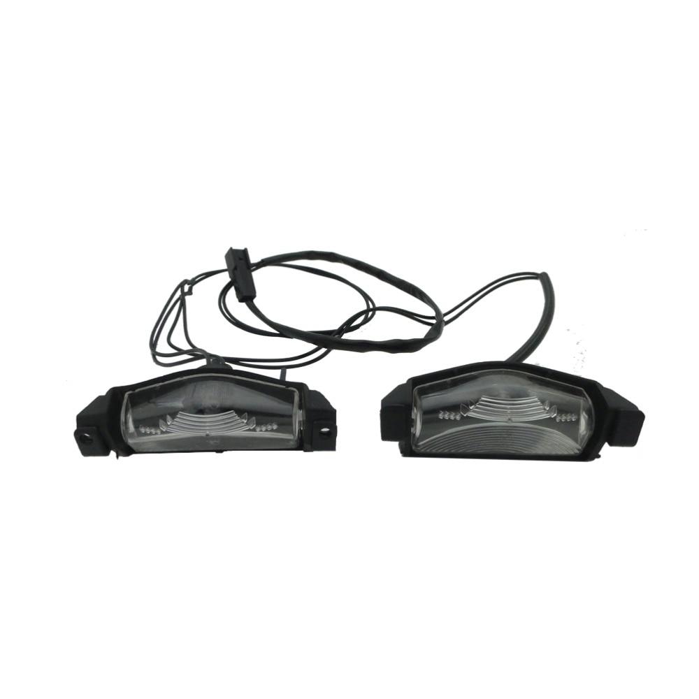 1 Set License Plate Light Lamps for Mazda 3 Sedan 2008-2010 ключ накидной set hing license 110mm