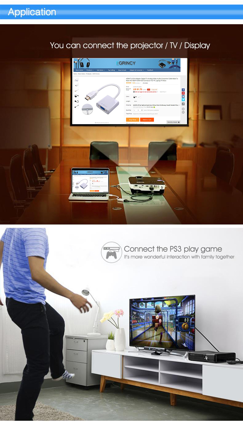 dp to hdmi for projector